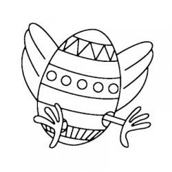 Vous cherchez un coloriage oeuf de Pâques ? Retrouvez sans plus attendre nos dessins d'oeufs de Pâques à imprimer pour les enfants. Les oeufs sont simplement ou très richement décorés.