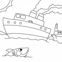 Coloriages de dessins sur la mer, ses habitants et son univers : bateau, animaux marins, plantes, paysage ... Et bien d'autres encore à retrouver sur Tête à modeler