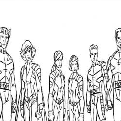 coloriages-xmen