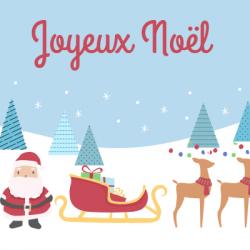Trouvez une comptine de Noël à faire écouter à vos enfants ou à chanter en famille.