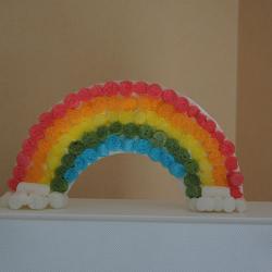 Une activité pour créer un joli arc-en-ciel en playmais. Les arcs-en-ciel sont très appréciés par les enfants en ce moment. Accompagnés de licornes, ils pourront décorer la chambre de vos enfants pour les emmener au pays magique ! Très simple à réaliser e