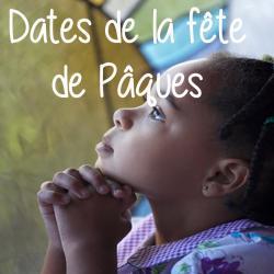 Dates de Pâques 2018 ,dates Pâque religieuse