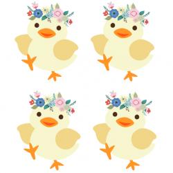 Voici d'autres décorations de Pâques à imprimer pour réaliser les petites décorations de Pâques à accrocher dans toute la maison !