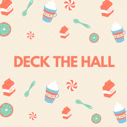 "Deck the hall  Paroles de la chanson pour carnet de chants. Chanson ""Deck the Hall"" pour chanter en anglais avec les enfants. Paroles avec version pour carnet de chants. Une chanson traditionnellement chantée pour Noël en Ang"