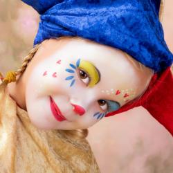 déguisement sur le cirque