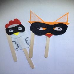 Comment réaliser des petites marionnettes en bâtonnets