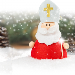 Description de saint Nicolas. Un article pour décrire et expliquer comment est habillé le Saint patron des écoliers.