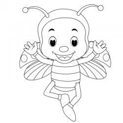 Dessin coccinelle : un coloriage de coccinelle à proposer aux enfants qui aiment ces petits insectes - Page 9
