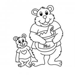 Imprimez un dessin Ours ou un Coloriage Ours facilement sur le site. Vous retrouverez des ours, des oursons et des nounours.
