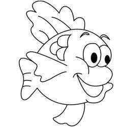 """Imprimez un """"dessin poisson"""" ou un coloriage poisson facilement et gratuitement grâce à notre sélection de coloriages sur le thème des poissons et de la mer."""