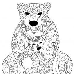 Voici un dessin pour maman à imprimer gratuitement. Un dessin pour faire plaisir à la fête des mères ou pour un anniversaire. - Page 8