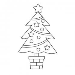 Vous cherchez un dessin de sapin de Noël ou un coloriage de sapin de Noël ? Voici sans plus attendre une sélection de coloriages avec le roi des forêts et arbres illuminés des fêtes de fin d'année.