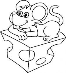 Tous les coloriages portant sur les souris, les rats et les mulots.. La souris , ce petit rongeur bien aimé des enfant , souris des champs ,...