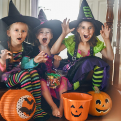 Vous cherchez un déguisement sorcière pour vos enfants ? Voici sans plus attendre notre sélection et nos déguisements avec des robes de sorcières classiques, des robes pop multicolores et des accessoires pour votre costume de sorcière