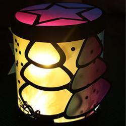 Un tuto pour apprendre à réaliser cette belle lanterne de Noël