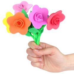 tuto pour de bricolage enfants pour réaliser un bouquet de fleurs