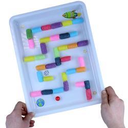 Un tuto pour réaliser un labyrinthe de l'espace avec les enfants