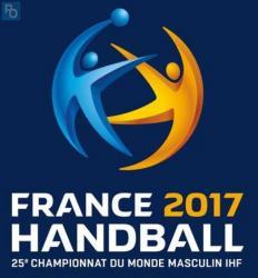 Logo du championnat du monde de Handball 2017 en France