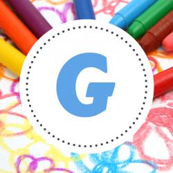 Coloriage prénoms commençant par G