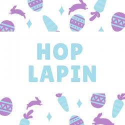 """Les paroles de la comptine """"Hop lapin"""" en vidéo pour chanter avec les enfants à Pâques !"""
