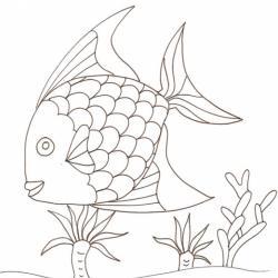 Une image de poisson d'avril