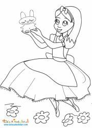 Alice et le petit lapin