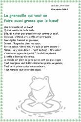 Le Corbeau Et Le Renard Texte Pdf
