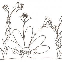 Bouquet de fleurs à imprimer