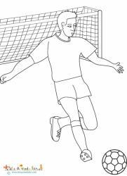 Foot : un coloriage de la coupe du monde