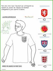 Activité sur le maillot d'Angleterre