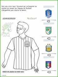 Activité sur le maillot d'Argentine