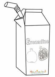 Coloriage grenadine