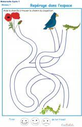 Jeu de fils mà™lés à imprimer : Imprime ce jeu et à toi de jouer ! aide la petite chenille à trouver son chemin dans le labyrinthe