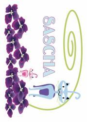 Image prénom Sascha à imprimer