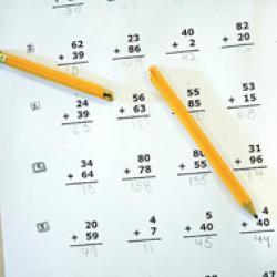 Enfant et maths