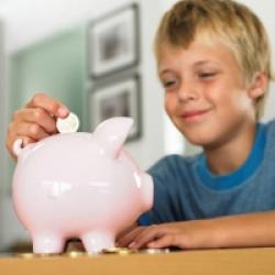 Tirelire pour l'argent de poche