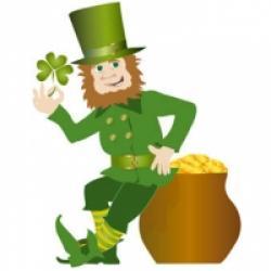 Leprechaun de la Saint Patrick