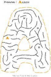 labyrinthe aaron