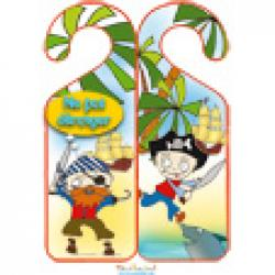 Accroche-porte decor pirate 2
