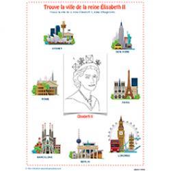 Trouve la ville de la reine Élisabeth II