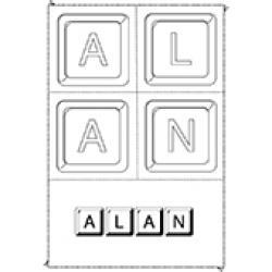 Alan, coloriages Alan