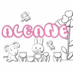 Adèle,activités prénom Albane