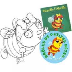 Coloriage de Mireille l'abeille