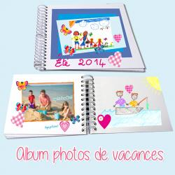 Album photos de vacances
