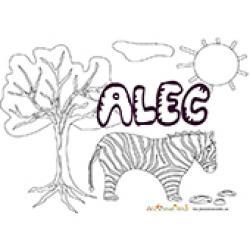Alec, coloriages Alec sur Tête à modeler
