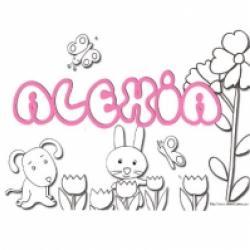 Activités sur le prénom Alexia