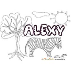 Alexy, coloriages Alexy