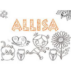 Alissa, coloriages Alissa