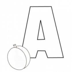 Alphabet grandes lettres