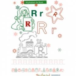 Alphabet du train de Noel